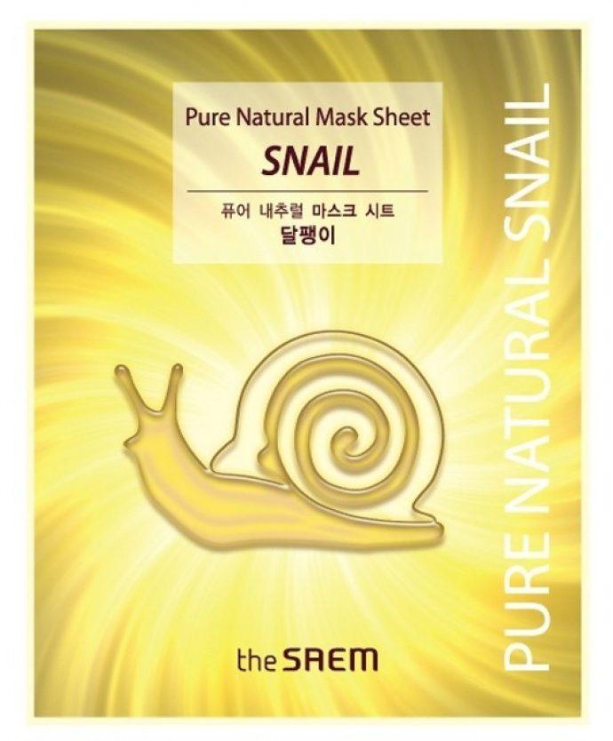 Тканевая маска для лица The Saem Pure Natural Mask S
