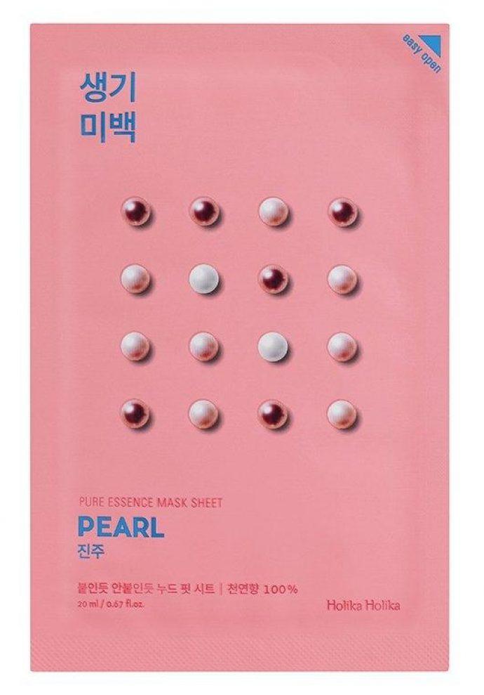 Тканевая маска для лица Holika Holika Pure Essence Mask Sheet Pearl
