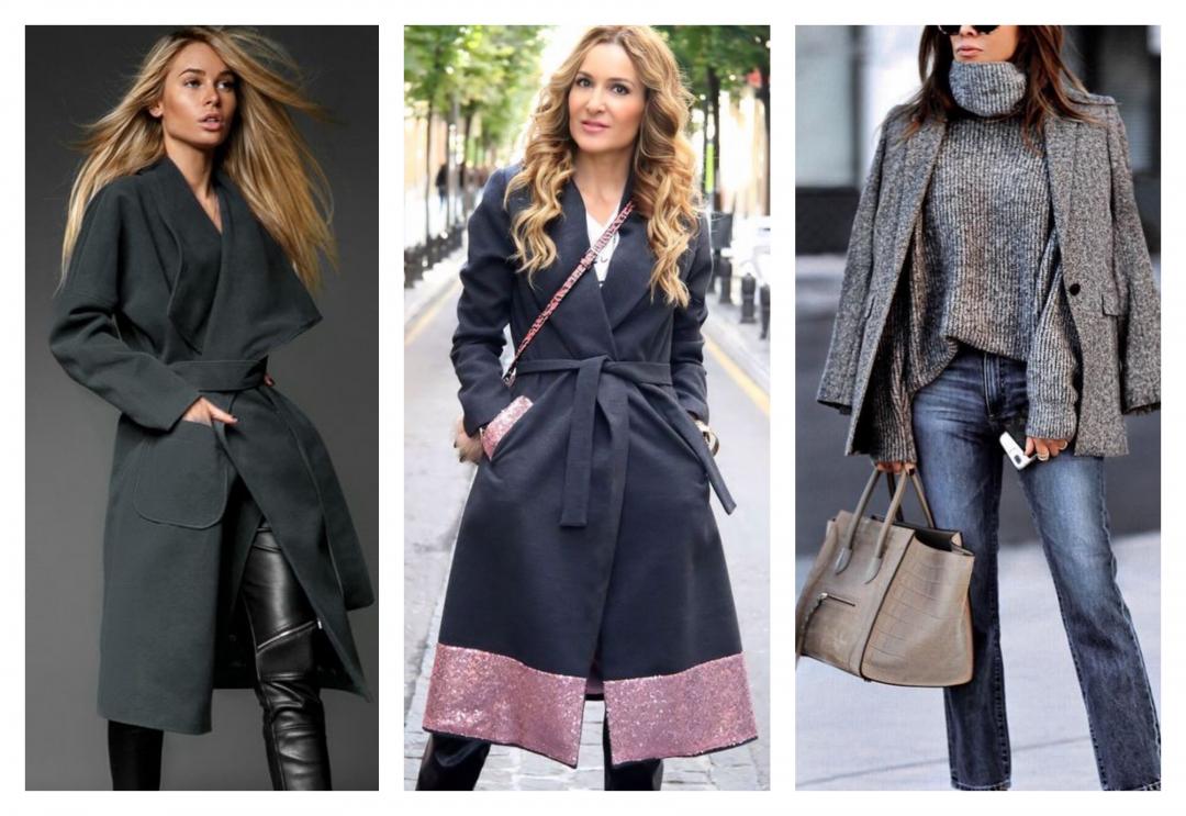 С чем носить серое пальто — модные рекомендации и советы