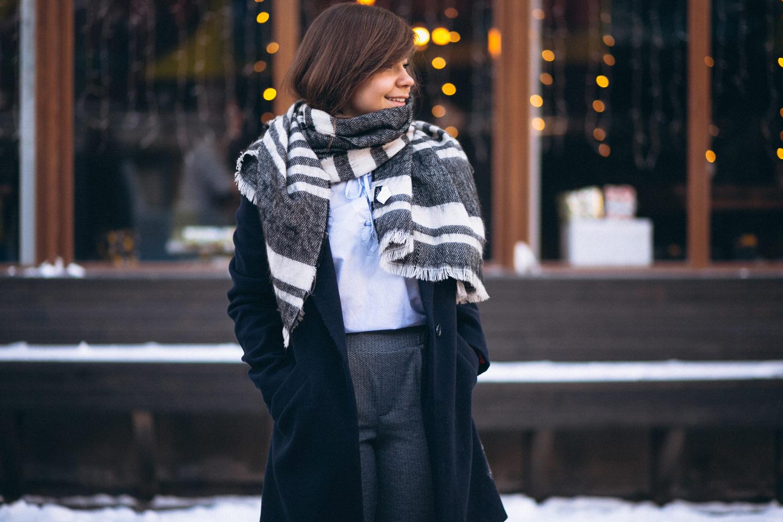 С чем носить чёрное пальто: рекомендации стилистов