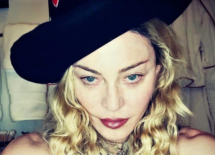 Мадонна в шляпе