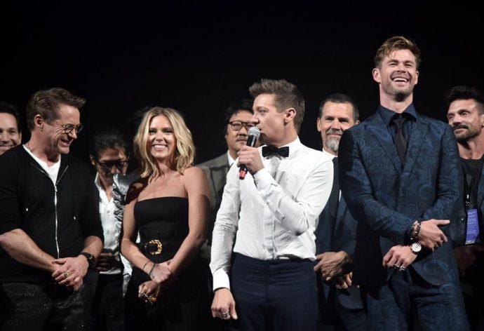 Актеры из фильма Мстители