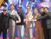 Актеры из фильма Мстители на премьере последней части