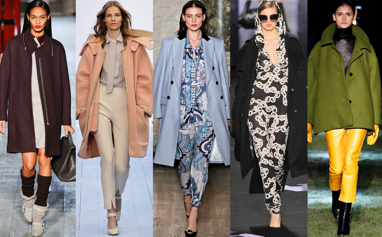 С чем носить пальто оверсайз: советы стилистов