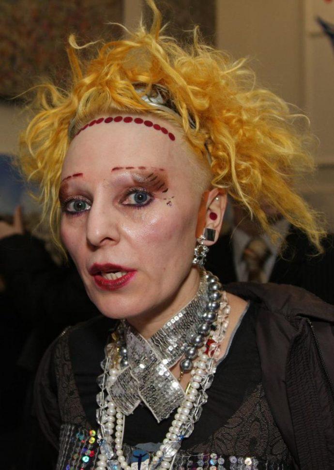 Нелепый макияж Агузаровой