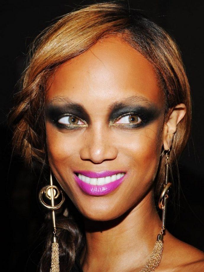Шокирующий макияж Тайры Бэнкс