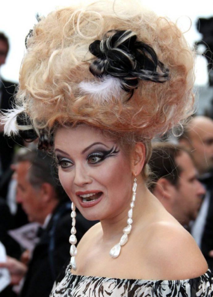 Шокирующий макияж Лены Лениной