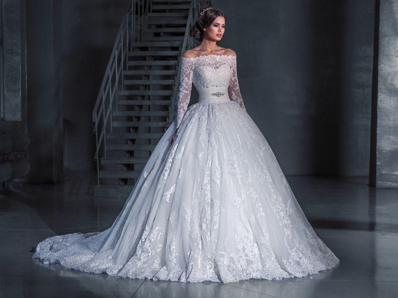 10 свадебных платьев, которые поражают роскошностью