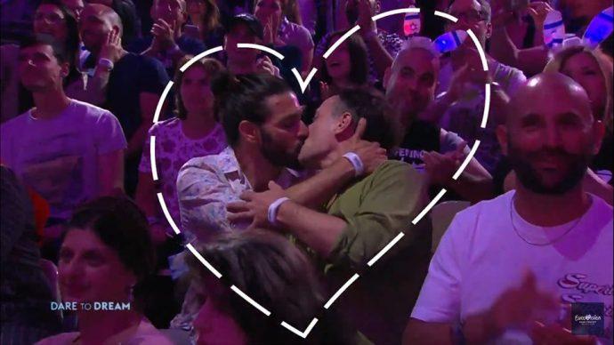 Поцелуй на Евровидении