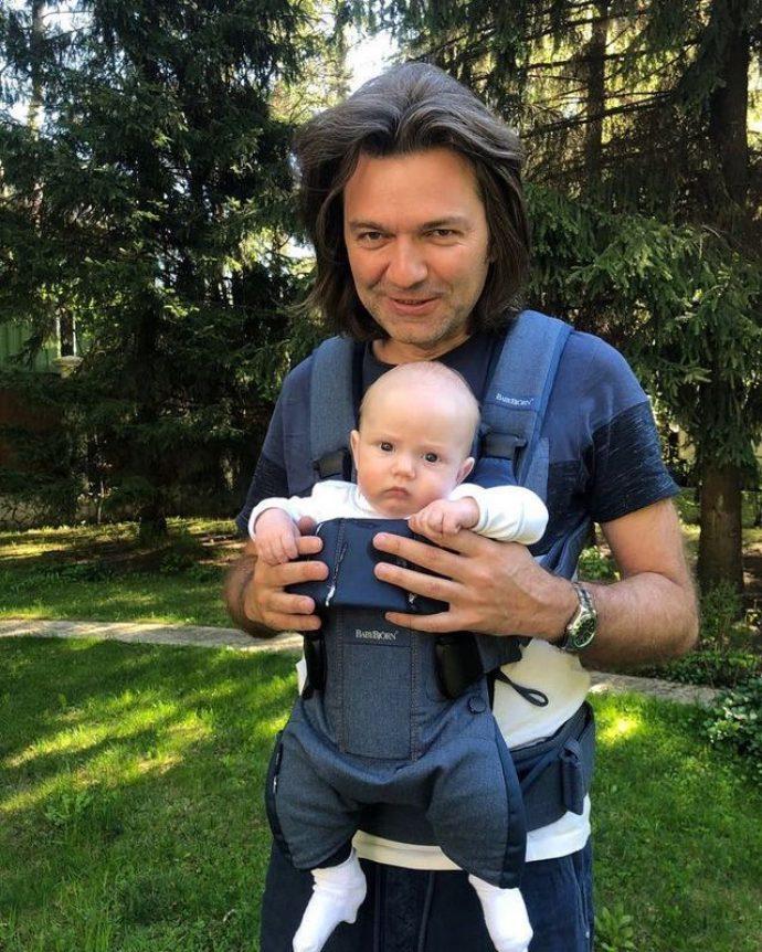 Дмитрий Маликов с сыном