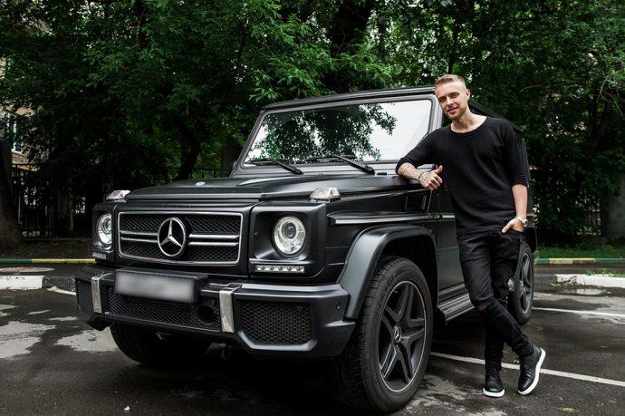 Егор Крид, автомобиль