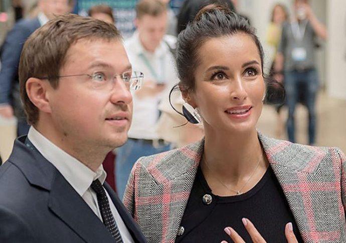 Тина Канделаки с мужем