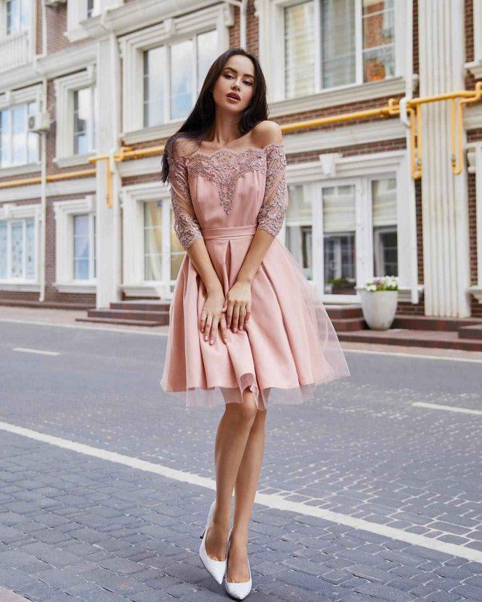 Коктейльное платье на выпускной