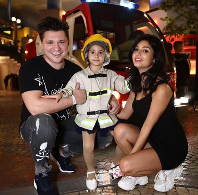 Алексей Кабанов с семьёй