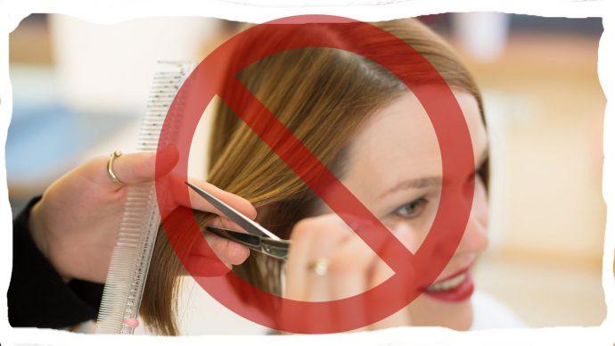 нельзя стричь волосы