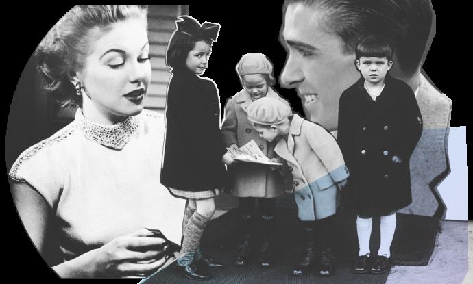 Девушка рассказывает парню о своей семье