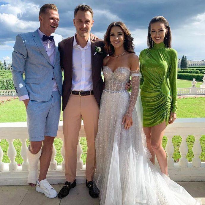 Костенко на свадьбе T-killah