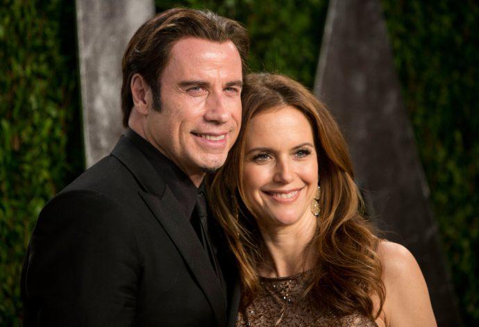 Джон Траволта с женой