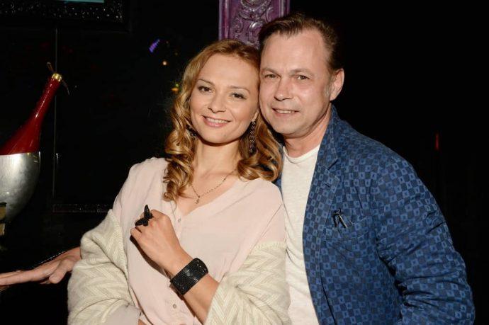 Владимир Лёвкин с женой