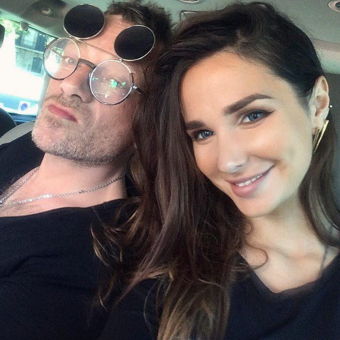 Глеб Самойлов с женой