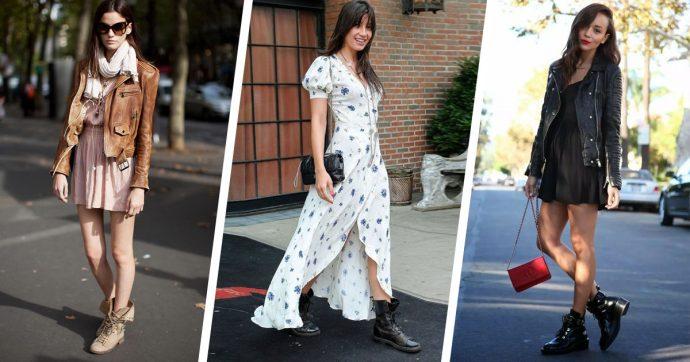 Образы с шифоновым платьем