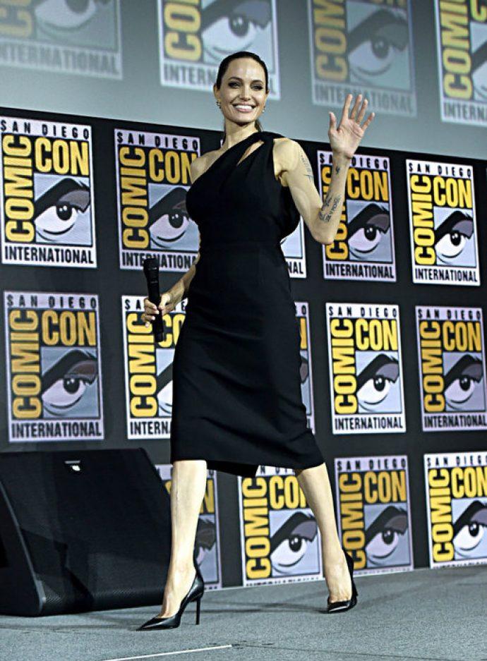 Анджелина Джоли посетила Comiс Con