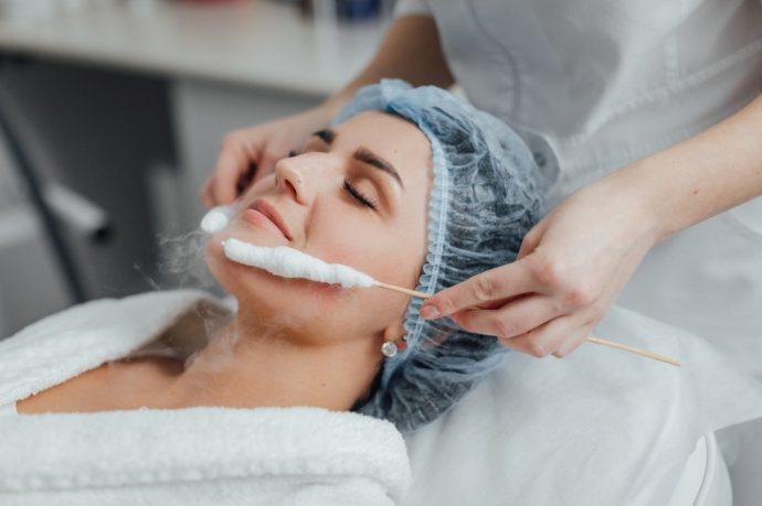 Криотерапия для кожи лица