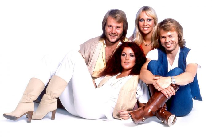 Участники группы ABBA