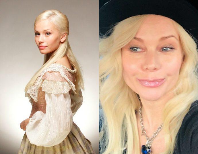 Елена Корикова тогда и сейчас