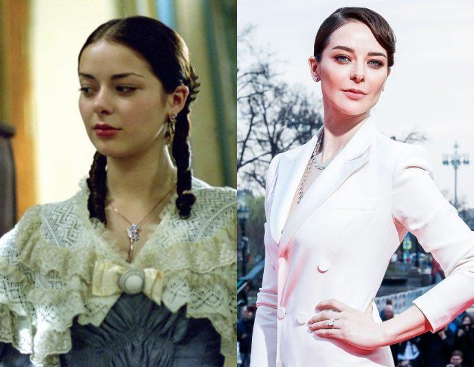 Марина Александрова тогда и сейчас