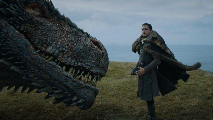 Эпизод с драконом из последнего сезона телесериала «Игра престолов»