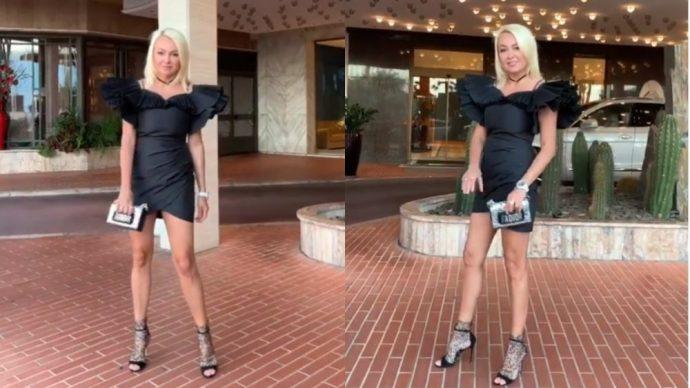 Рудковская, кадр из видео