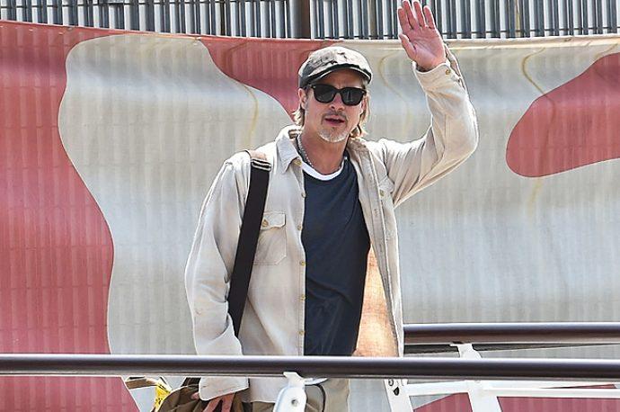 Брэд Питт прибыл на Венецианский кинофестиваль