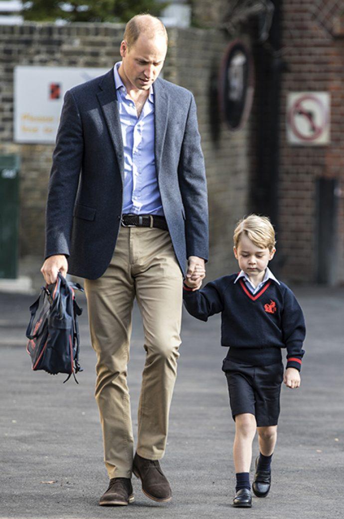 Принц Джорд с отцом