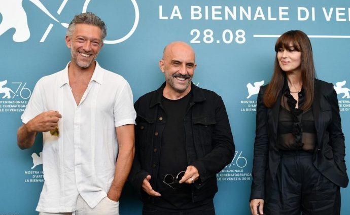 Моника Беллуччи и Венсан Кассель на фестивале кино