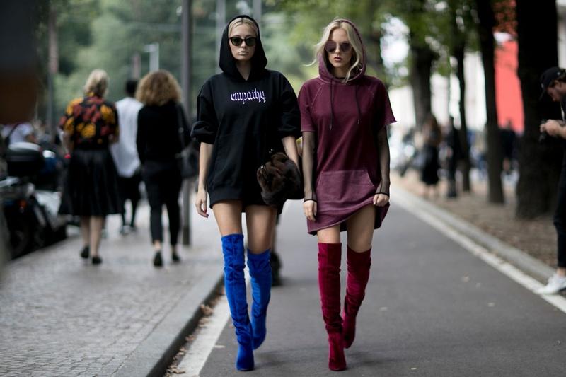 С чем носить худи: 10 модных сочетаний
