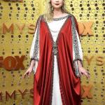 Гвендолин Кристи в платье от Gucci