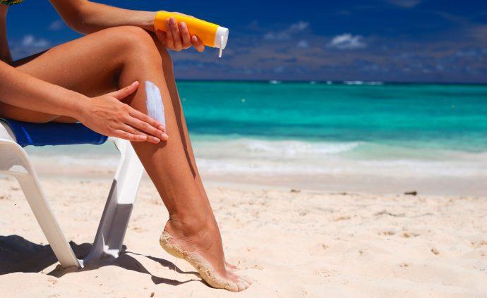 Защита кожи от воздействия солнечных лучей