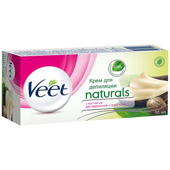 Крем для депиляции «Вит» с большим содержанием масла ши
