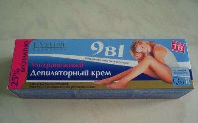 Крем для депиляции от Eveline cosmetics