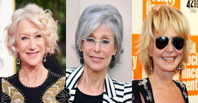 Варианты стрижки и цвета волос для женщин 50+