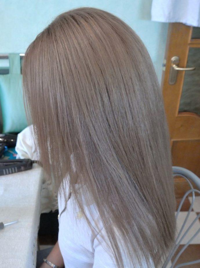 Русые волосы после тонирования