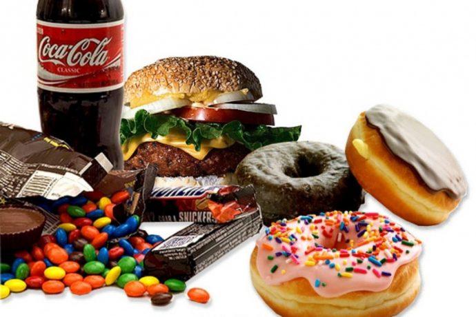 Вредные продукты для организма