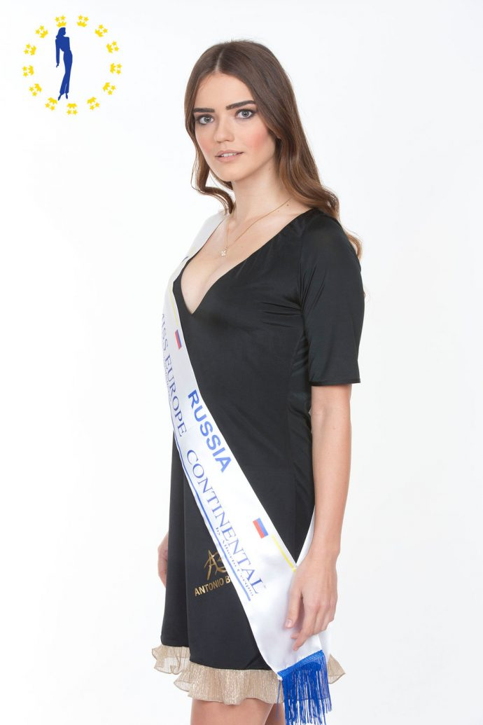Мария Дмитриева Miss Europe Continental