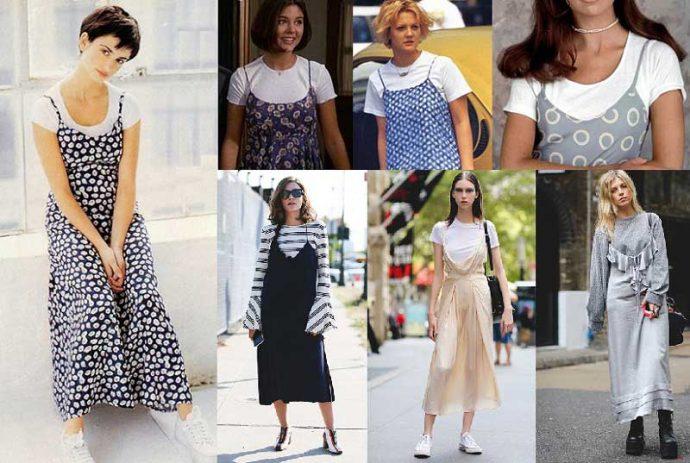 Образы с сарафанами и футболками