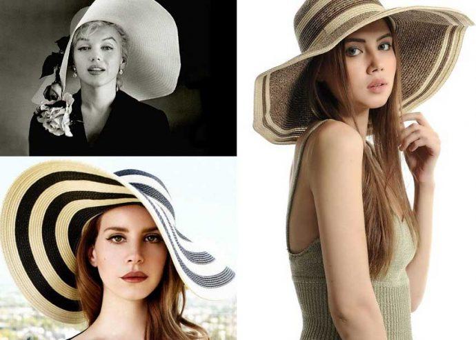 Девушки в больших шляпах