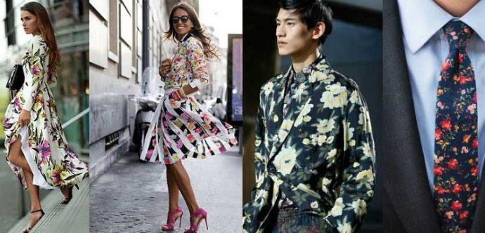 Одежда с цветочными принтами
