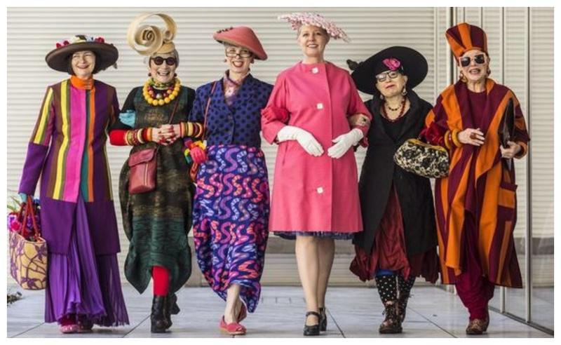 Модные бабушки, которые даже на пенсии знают, как оставаться в тренде (фото)