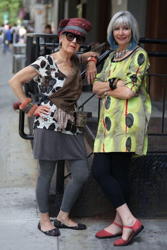 Стильные женщины в возрасте