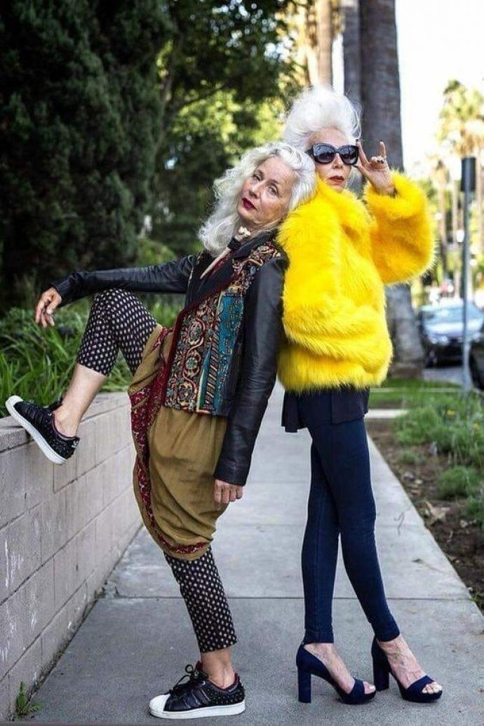 Модные старушки